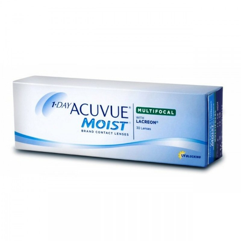 1-DAY ACUVUE MOIST MULTIFOCAL WITH LACREON